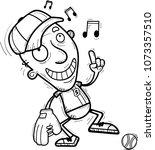 a cartoon illustration of a... | Shutterstock .eps vector #1073357510
