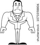 a cartoon businessperson... | Shutterstock .eps vector #1073358806