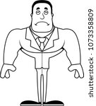 a cartoon businessperson... | Shutterstock .eps vector #1073358809