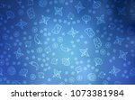light blue vector cover with... | Shutterstock .eps vector #1073381984