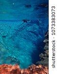 snorkeling and scuba diving in... | Shutterstock . vector #1073383073