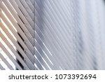venetian jalousie blinds  with... | Shutterstock . vector #1073392694