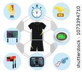 soccer european football sport...   Shutterstock .eps vector #1073394710