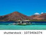 coron palawan philippines april ...   Shutterstock . vector #1073406374