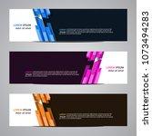 modern banner vector for your... | Shutterstock .eps vector #1073494283