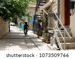 safed is a city of kabbalists... | Shutterstock . vector #1073509766
