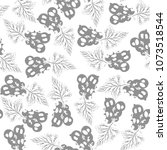 black currant. seamless pattern ...   Shutterstock .eps vector #1073518544
