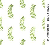 seamless pattern made of green... | Shutterstock . vector #1073540219
