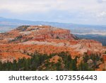 panoramic view the bryce canyon ... | Shutterstock . vector #1073556443
