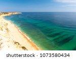 view on atlantic ocean from...   Shutterstock . vector #1073580434