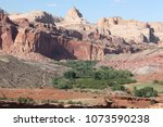 view of fruita campground in... | Shutterstock . vector #1073590238