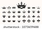 crown vector illustration... | Shutterstock .eps vector #1073659688