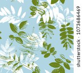seamless vector pattern with...   Shutterstock .eps vector #1073686469