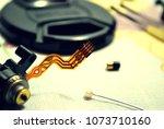 Small photo of Lens: Flex cabel of autofocus motor, objective