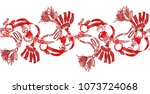 Stock photo flowers carry the scent of spring the leaves and flowers art design 1073724068