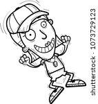 a cartoon illustration of a... | Shutterstock .eps vector #1073729123