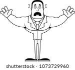 a cartoon businessperson... | Shutterstock .eps vector #1073729960