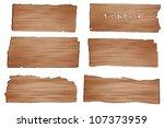 wood planks  vector illustration | Shutterstock .eps vector #107373959