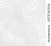topographic map background... | Shutterstock .eps vector #1073761316