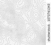 topographic map background... | Shutterstock .eps vector #1073761343