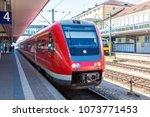 munich hauptbahnhof  central... | Shutterstock . vector #1073771453