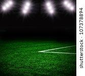soccer green field | Shutterstock . vector #107378894