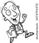 a cartoon illustration of a... | Shutterstock .eps vector #1073791970