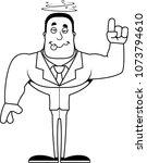 a cartoon businessperson... | Shutterstock .eps vector #1073794610