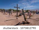 san pedro de atacama  chile  ... | Shutterstock . vector #1073812790