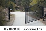 home security gates    Shutterstock . vector #1073813543
