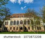 lviv old architecture cityscape ... | Shutterstock . vector #1073872208