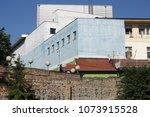 architecture of belgrade in... | Shutterstock . vector #1073915528