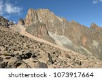 beautiful rock formations at... | Shutterstock . vector #1073917664