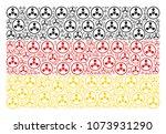 german state flag composition... | Shutterstock .eps vector #1073931290