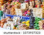 traditional guatemalan candy... | Shutterstock . vector #1073937323