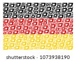 german flag collage combined of ...   Shutterstock .eps vector #1073938190