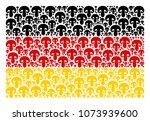 german state flag concept... | Shutterstock .eps vector #1073939600