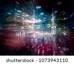 digital city series. abstract...   Shutterstock . vector #1073943110