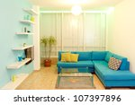 interior design in a new house. ... | Shutterstock . vector #107397896