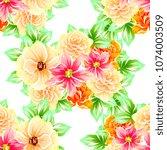 abstract elegance seamless... | Shutterstock . vector #1074003509