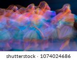 Abstract movement in the dance. ...