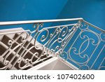 Wrought Iron Railing On A...