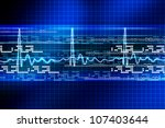 electrocardiogram | Shutterstock . vector #107403644