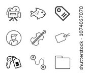 Premium Outline Set Of Icons...