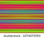 color parallel horizontal lines ... | Shutterstock . vector #1074075593