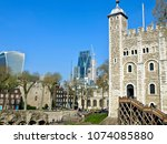 london  england 04 16 2017 ... | Shutterstock . vector #1074085880