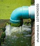 the aquatic plant nursery at...   Shutterstock . vector #1074090050