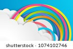 illustration of design a... | Shutterstock .eps vector #1074102746