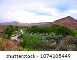 zions national park  utah  usa   Shutterstock . vector #1074105449