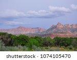 zions national park  utah  usa   Shutterstock . vector #1074105470